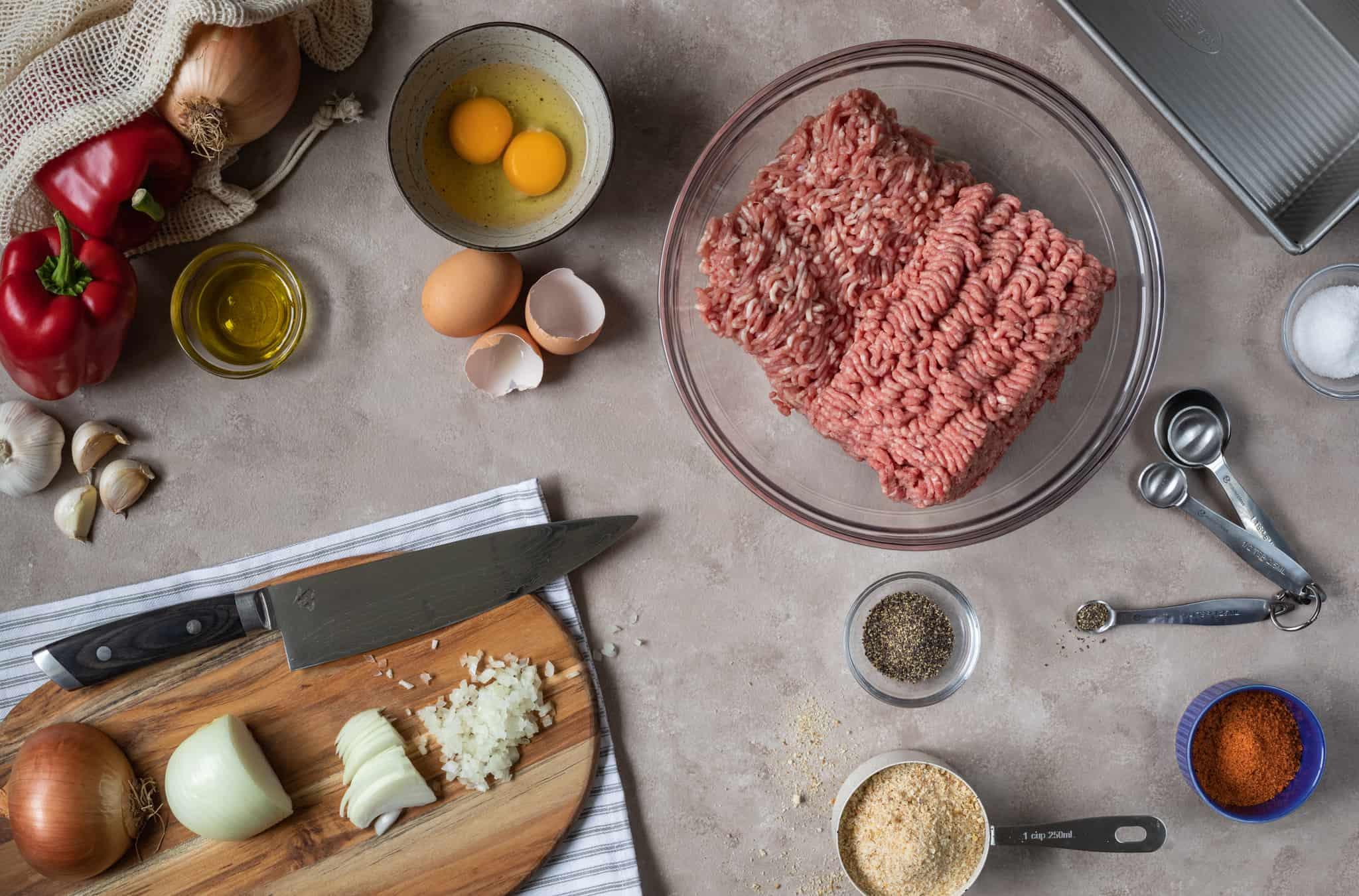 Best Ever Meatloaf Ingredients