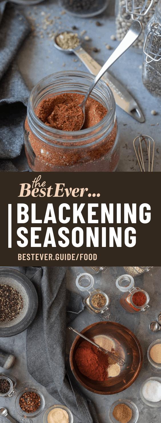 BEST EVER RECIPE FOR BLACKENING SEASONING