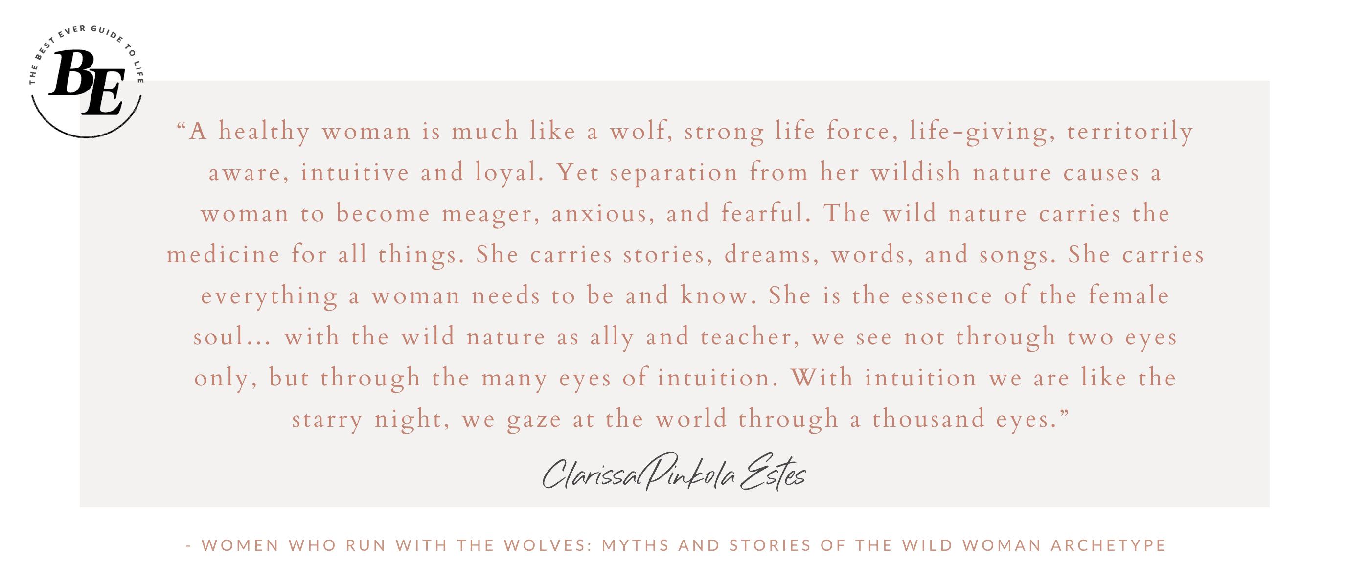 CPE Wise Wild Woman