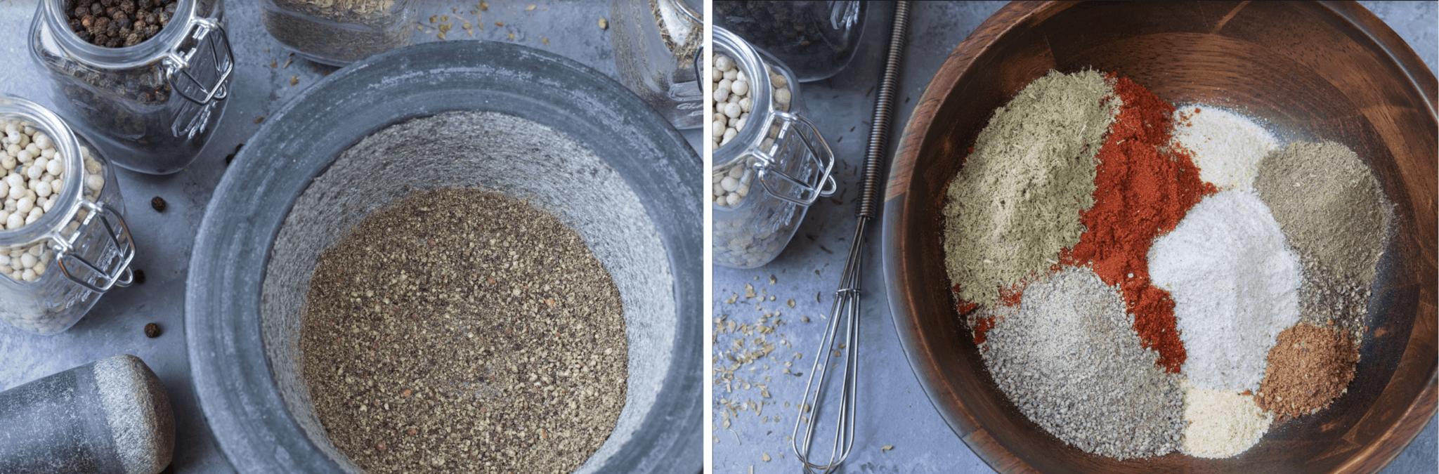 recipe for blackening seasoning prep