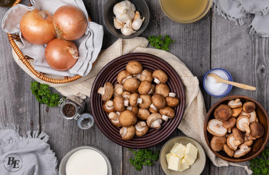 Cream of Mushroom Soup Ingredients