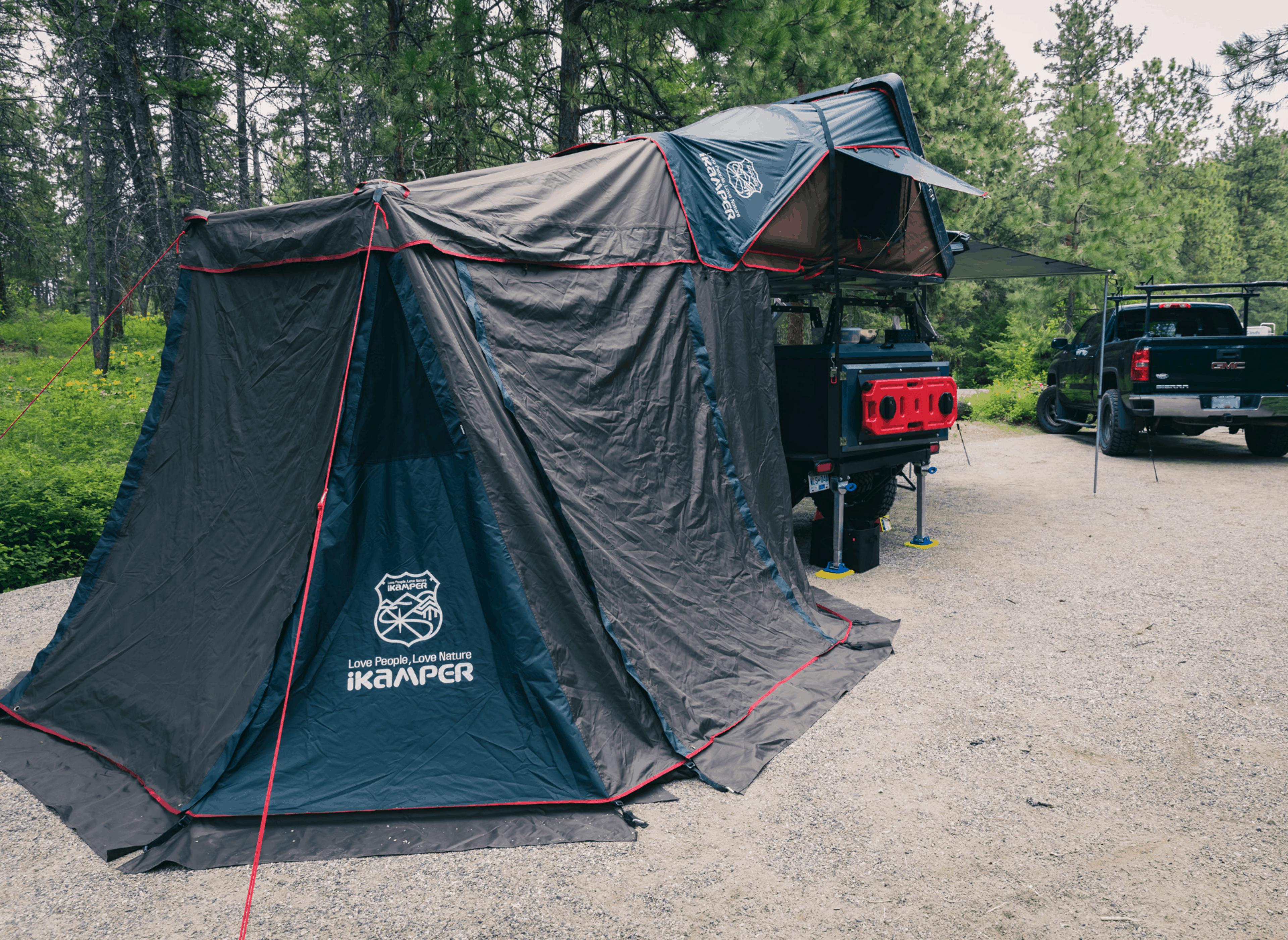 roof top tent ikamper