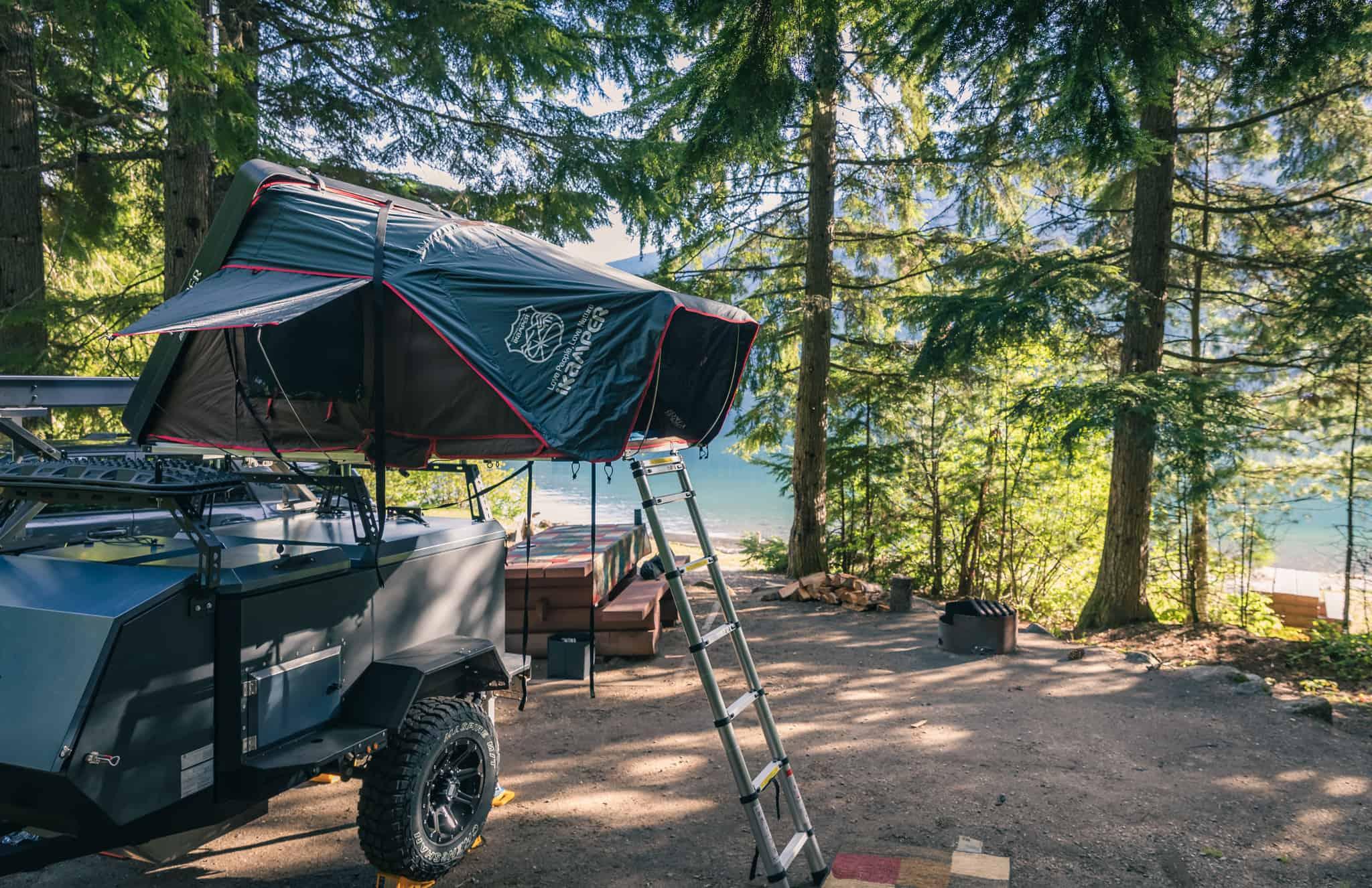 Revelstoke Camping Wadey Recreation Site