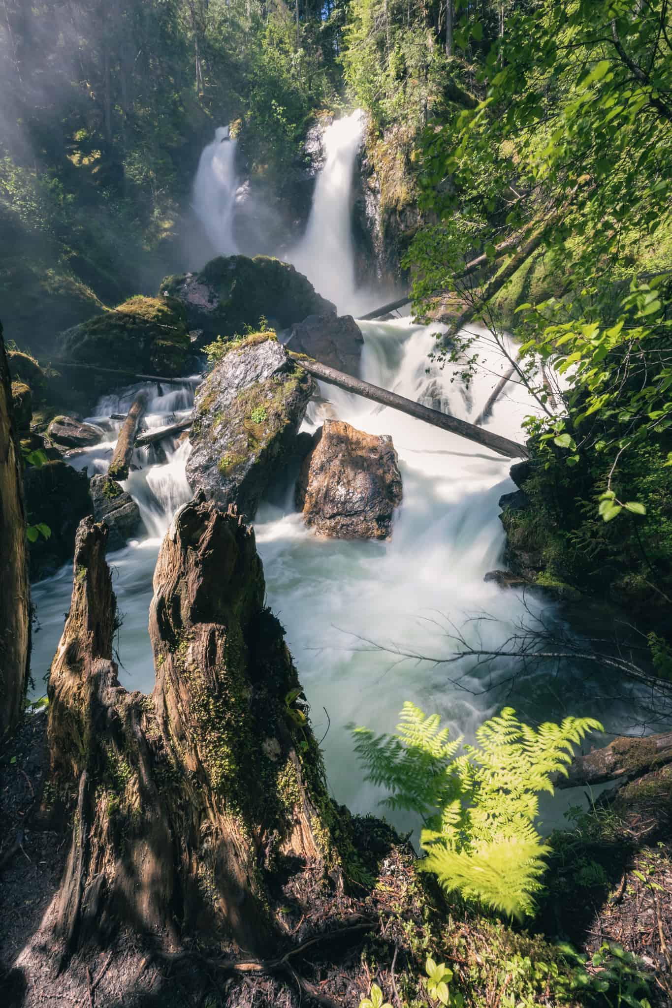 Revelstoke Waterfalls Begbie Falls