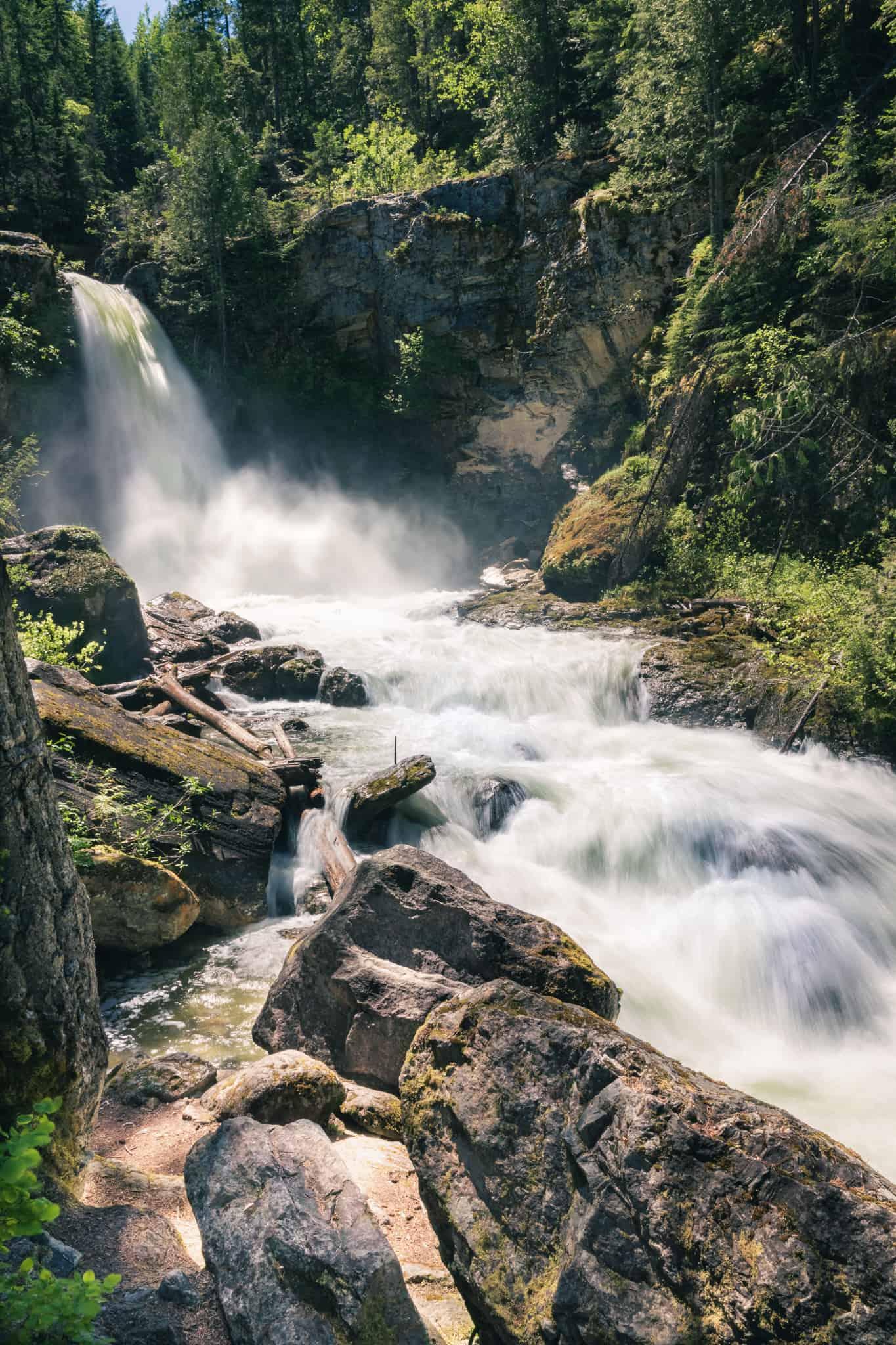 Sutherland Falls Blanket Creek
