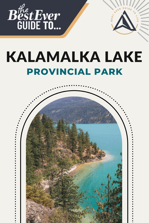 Best Ever Guide to Kalamalka Lake