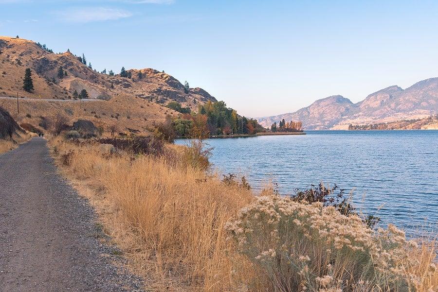 Kalamalka Lake Okanagan Rail Trail