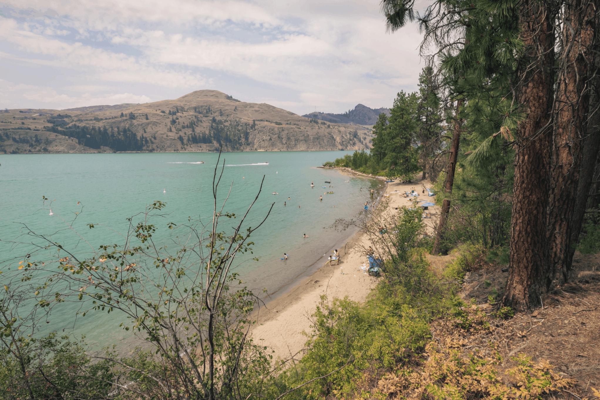 Kalamalka Lake Beach Juniper Bay