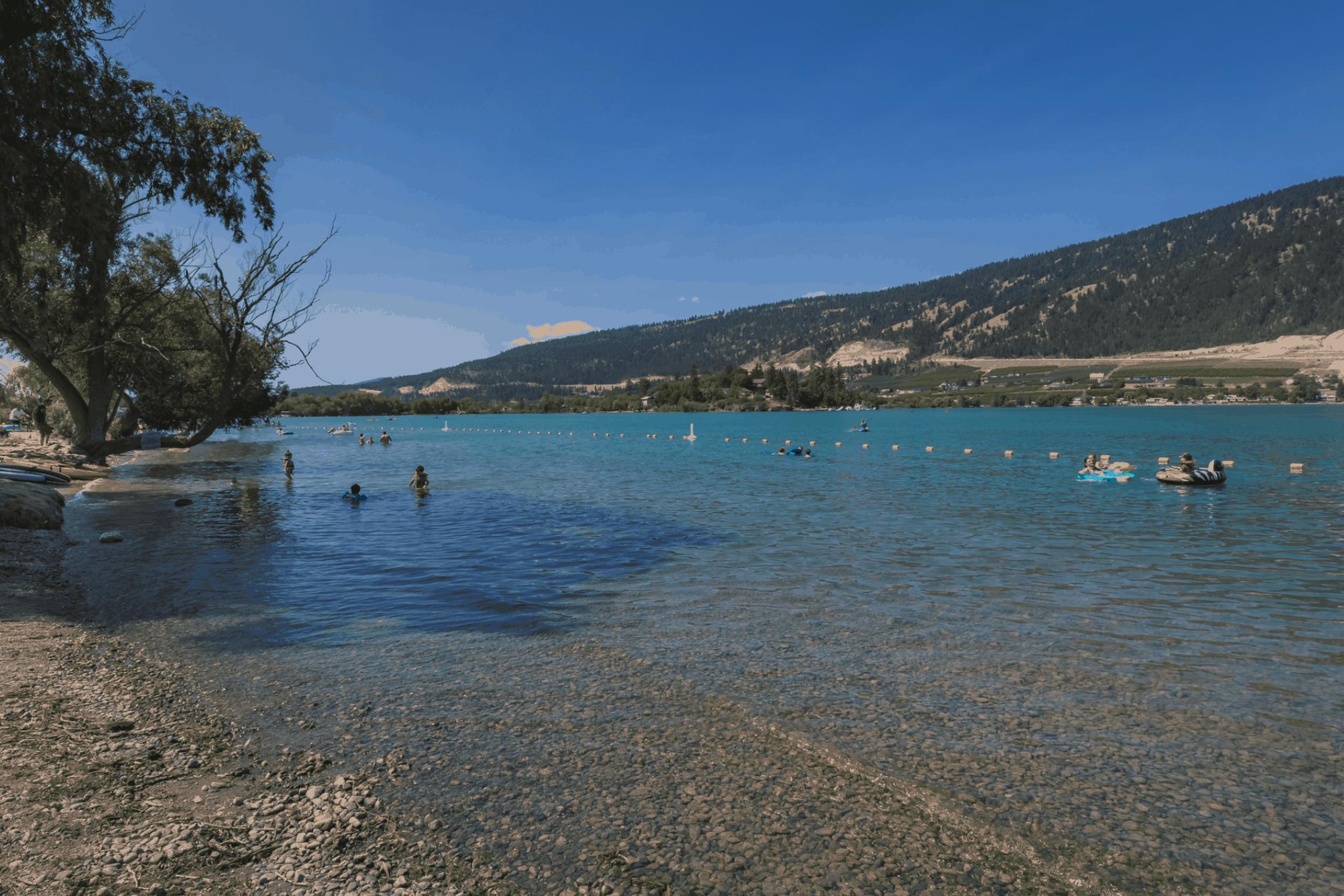 Kalamalka Lake Beach Kaloya