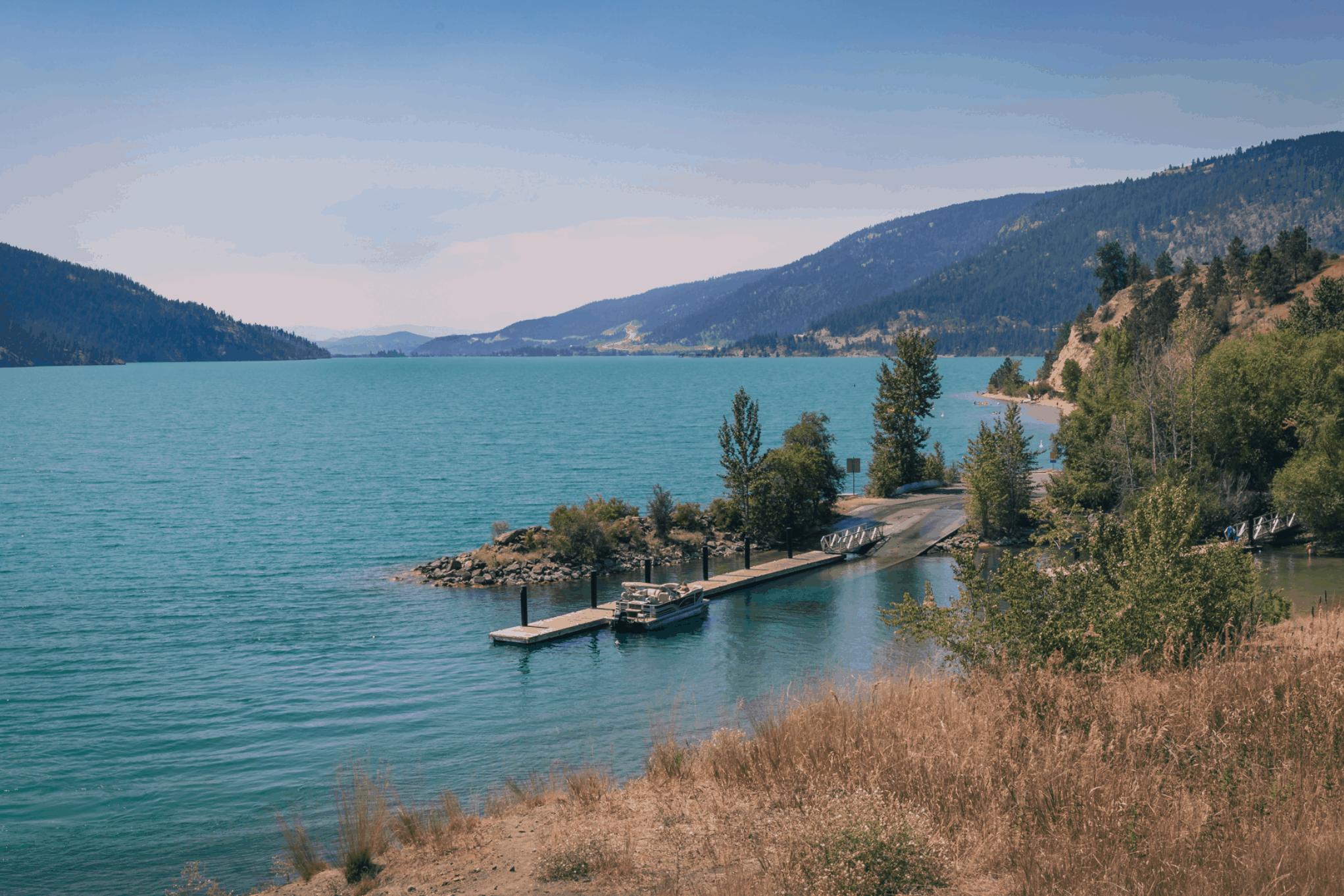 Kalamalka Lake Boat Launch