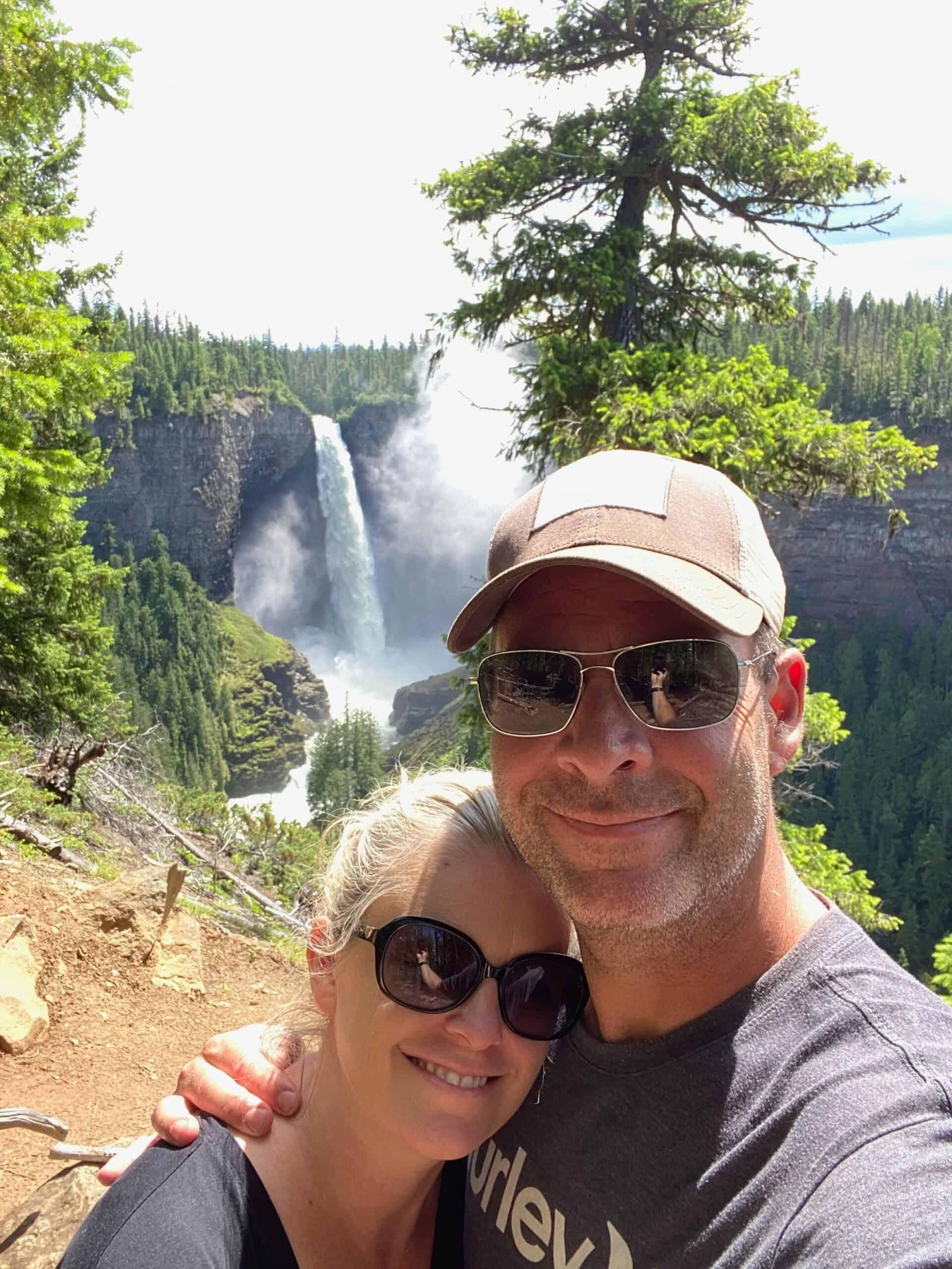 wells gray waterfalls