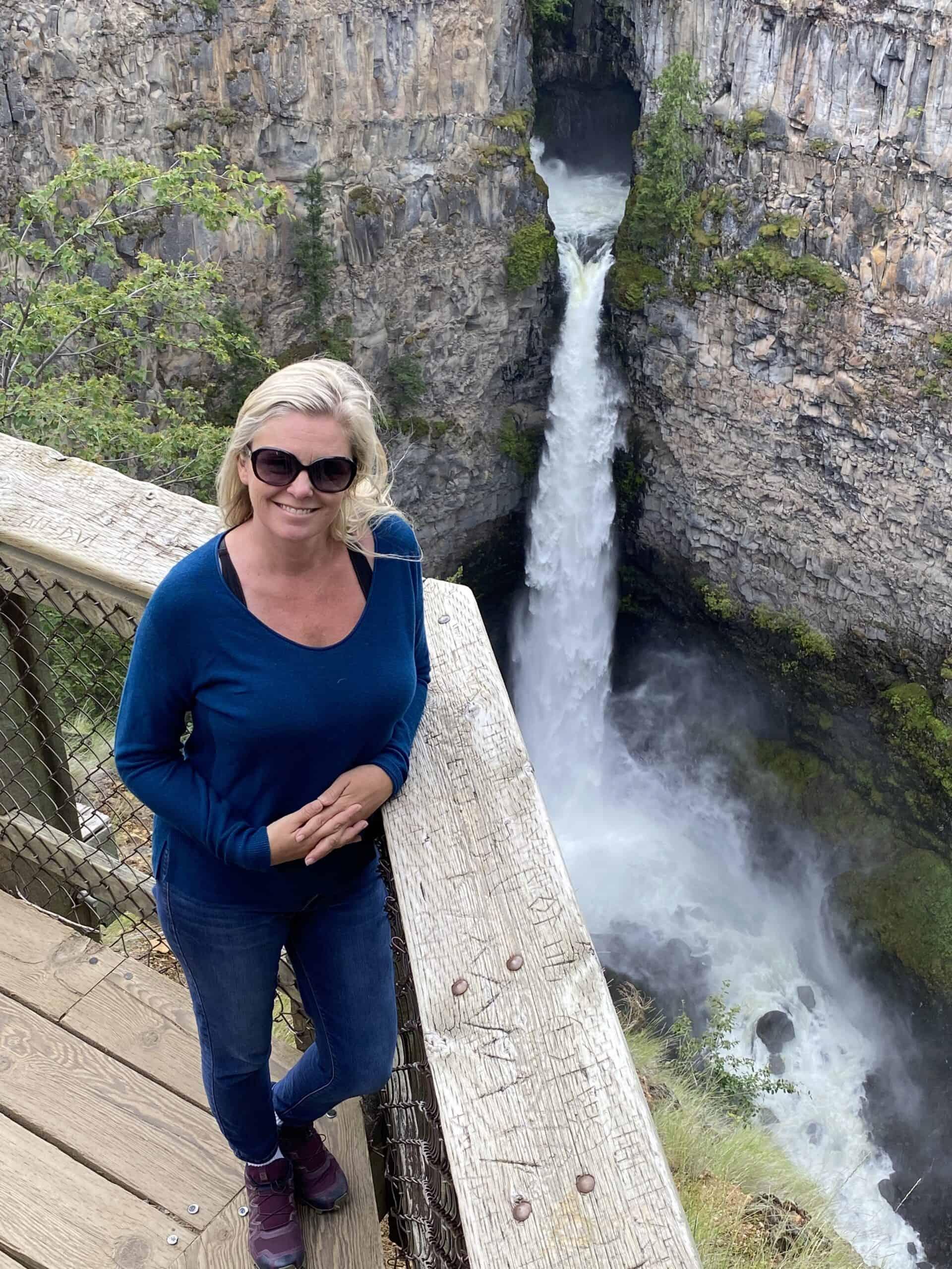 Wells Gray Provincial Park Spahats Creek Falls